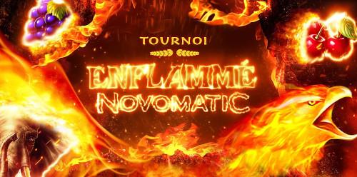 Recevez un bon d'achat de 1.000 euros avec le tournoi Novomatic du casino777