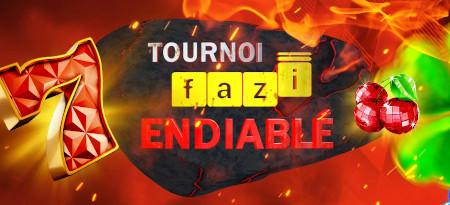 Tournoi Fazi Endiablé: Un max de cash et  d'e-cartes cadeau à gagner sur le casino777