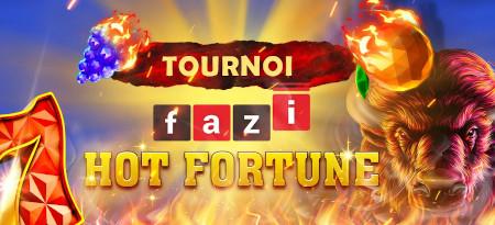 Tournoi Fazi Hot Fortune: Plus de 3.500 euros d'e-cartes-cadeau à gagner sur le casino777