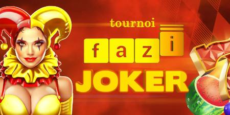 Tournoi Fazi Joker: Un max de cash à gagner pour  la boutique Premium avec le casino777