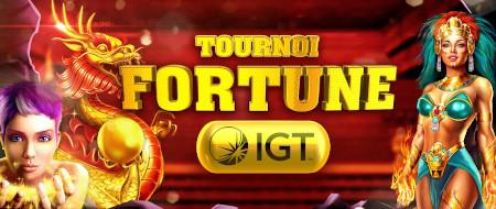 Tournoi Fortune IGT: Gagnez jusqu'à 1.000 euros avec le casino777