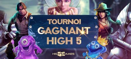 Tournoi gagnant High 5: Plus de 5.600 euros d'e-cartes  cadeaux à gagner sur le casino777