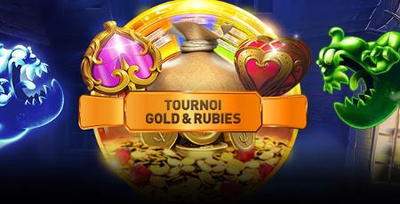 cagnotte de 5.000 euros pour le tournoi Gold & Rubies du casino777