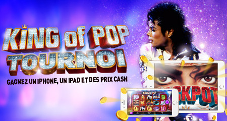 "Casino 777 offre un iPhone, un iPad et du cash sur le  jeu  ""Michael Jackson: King of Pop"""