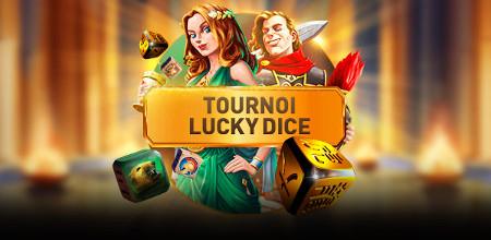 1.500 euros à gagner avec le tournoi Lucky Dice
