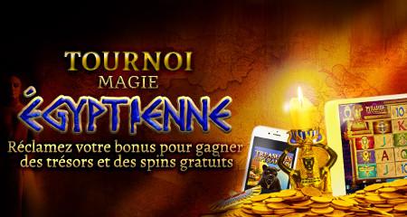 iPhone 6, iPad mini et du cash à gagner avec le code Egypt sur Casino777
