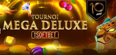 Tournoi Mega Deluxe: 10.000 euros à gagner  sur le casino777