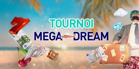 7.000 euros par round à gagner avec le tournoi Mega Dream