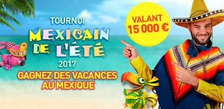 Voyage de 15.000 € au Mexique et du cash à gagner au Casino777