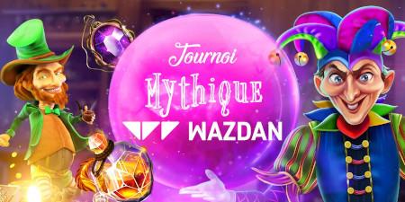Tournoi mythique Wazdan: E-cartes cadeaux et tokens à gagner sur  le casino777