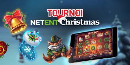 Un iPad à gagner au tournoi Netent Christmas du Casino 777
