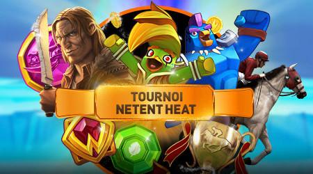 Tournoi NetEnt Heat : 2.000 euros à gagner ce week-end sur le casino777