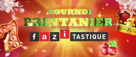 Tournoi Printanier Fazi-tastique: Du cash et des  e-cartes cadeau à gagner sur le casino777