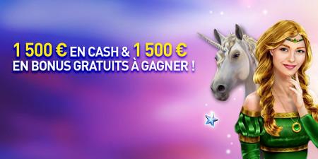 3.000 euros de cash et de bonus à gagner avec le tournoi Glamorous  RedRake