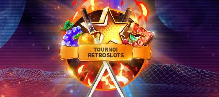 2.000 euros en jeu lors du tournoi Retro Slots