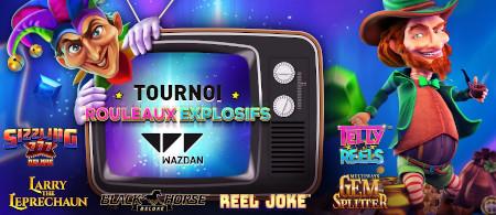 3.000 euros de bons d'achat à gagner avec le tournoi Rouleaux Explosifs Wazdan du casino777