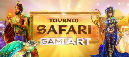 Tournoi Safari  GameArt: Des milliers de cash et des centaines de tokens à gagner sur le  casino777