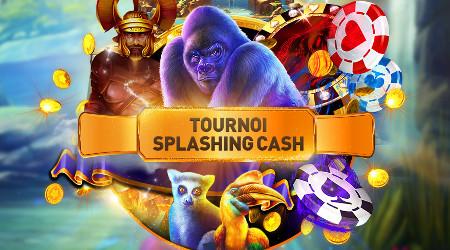 3.000 euros à gagner avec le tournoi Splashing Cash