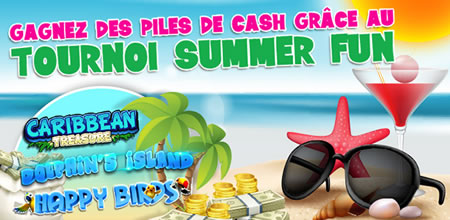 Tournoi Summer Fun de Casino777 avec 1.000 € cash à gagner