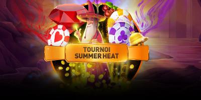 1.500 euros cash à gagner lors du tournoi Summer Heat