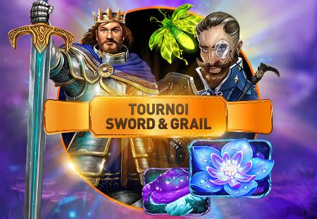 1.500 euros à gagner avec le tournoi Sword & Grail