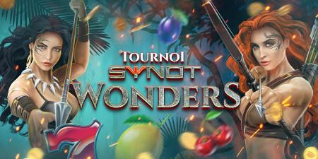Tournoi Synot Wonders: un festival de cash et de  tokens sur le casino777