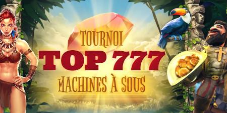 Tournoi Top777 du casino777