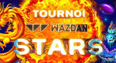 Tournoi Wazdan Stars: Explosion de cash et de  tokens ce week-end sur le casino777