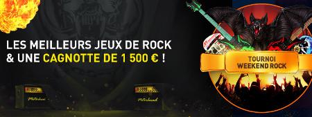 Du cash à gagner avec le tournoi Rock du casino777