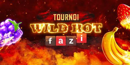Tournoi Wild Hot Fazi du casino777