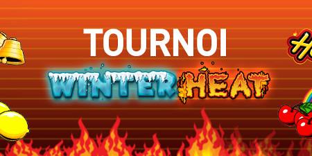 2.500 euros à se partager lors du tournoi Winter Heat