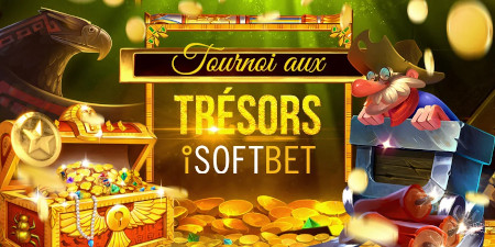 Tournoi aux Trésors iSoftBet: Faites le plein de bons d'achat sur le casino777