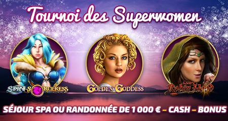 Tournoi des Superwomen de Casino777, séjour de luxe et du cash à gagner