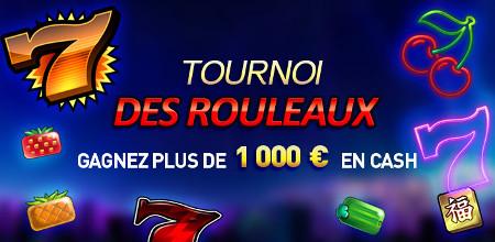 Tournoi des Rouleaux : Du cash, des bonus et des free spins à gagner