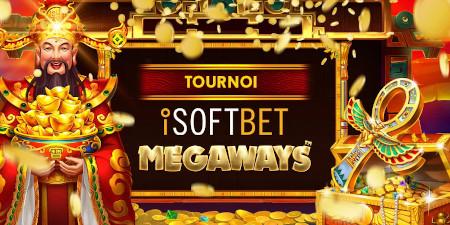 Tournoi iSoftBet MegaWays : Avalanche de bons d'achat et de tokens coffre-fort avec le casino777