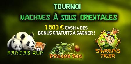 1.500 euros cash et des bonus à gagner lors du tournoi du casino777