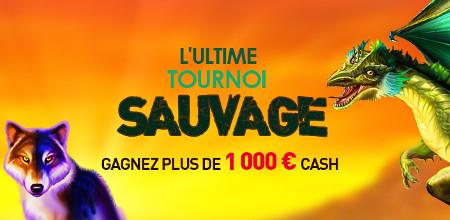Plus de 1000 € à se partager pendant l'Ultime Tournoi Sauvage