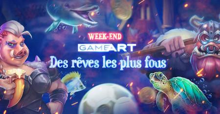 Week-end GameArt: un max de cash pour des achats à la boutique avec le casino777