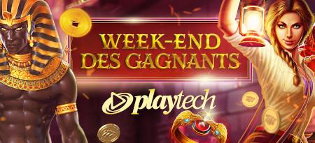 Week-end des gagnants Playtech: Faites le plein  de cash et de tokens sur le casino777
