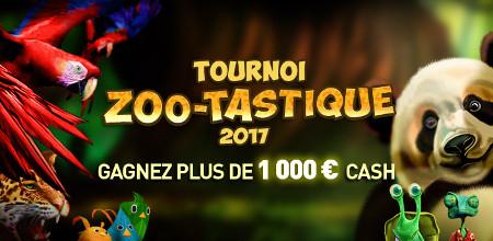 Zoo-Tastique : 1.000 € avec le tournoi du Casino777