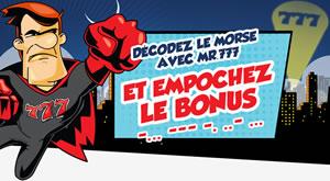 100 € de bonus avec les codes Printemps15 et AVRIL15