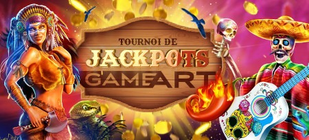 Tournoi de jackpots GameArt du  casino777
