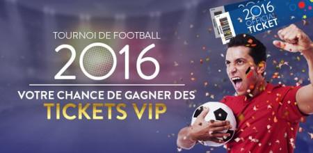 Gagnez du cash et un package pour l'Euro 2016 au Casino777