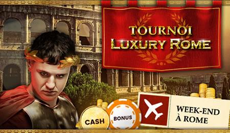 Gagnez un voyage exceptionnel à Rome en jouant sur Luxury Rome HD