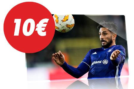 Gagnez un pari gratuit en misant sur Anderlecht x Charleroi