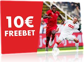 10 € de Freebet pour les quarts de finale de la Coupe de Belgique