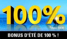 100 € offerts par Circus (Bonus de 100 %)