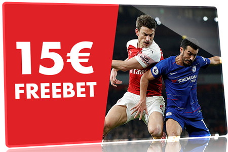 15 € de freebet pour la finale d'Europa League