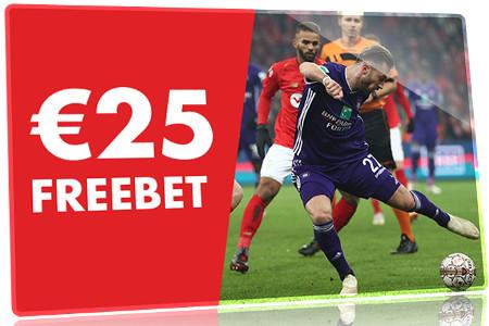 25 euros de bonus gratuit en pariant sur Standard x Anderlecht