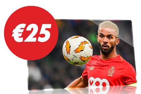 Standard de Liège x Eupen : 25 € de cashback sur Circus.be
